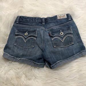 Girls size 10 Levi's shorts